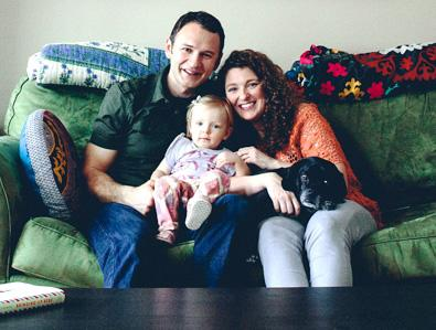 Andrew and Adrianne Markinkovich and family in 2013
