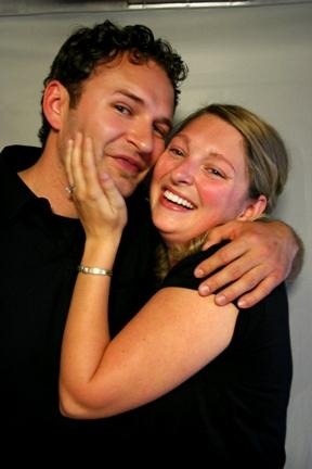 Andrew Marikovich and Adrianne Wemmert in 2007