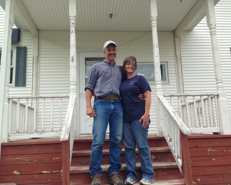 Tom and Aleisha Bragg