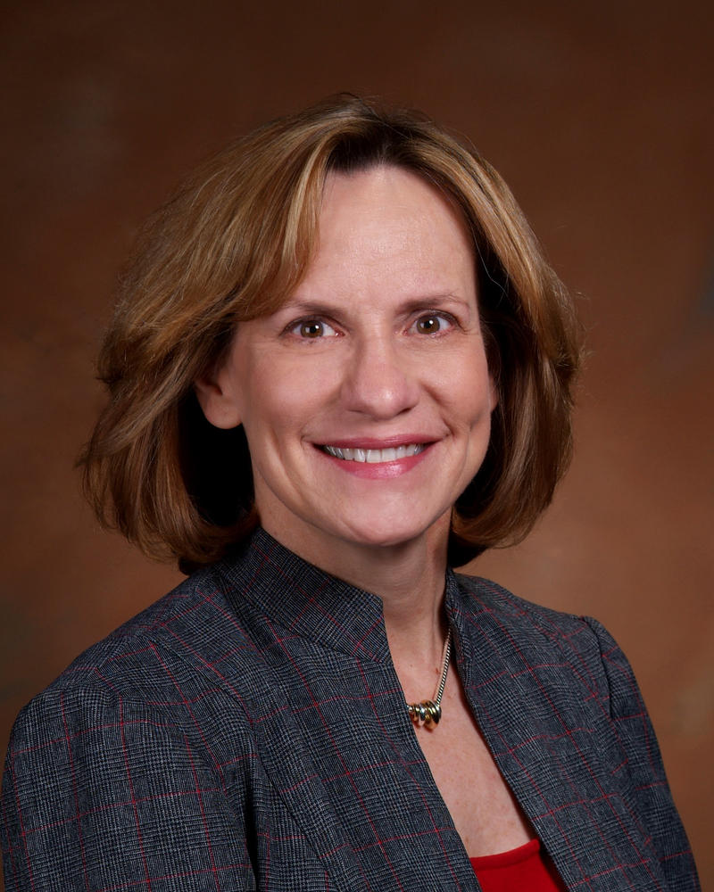 Des Moines Public Schools superintendent Nancy Sebring.