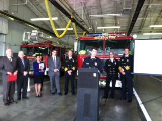 Omaha, Bellevue, and Papillion officials announced a mutual aid agreement during a news conference Tuesday.