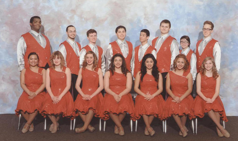 The Omaha South High School Ambassadors Show Choir.