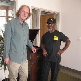 Eric Alan with Karl Denson at KLCC.