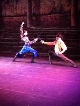 Swordfighting from Zorro the Ballet
