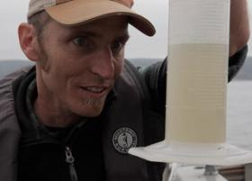 Biologist Neil Harrington.