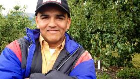 Farmworker Victor Gonzales