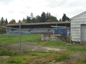 Civic Stadium sits unused in South Eugene.
