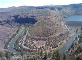 The Crooked River and Bowman Dam