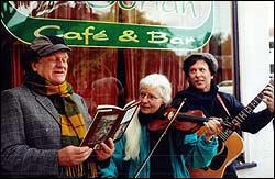 David Stuart Bull, Linda Danielson and Chico Schwall