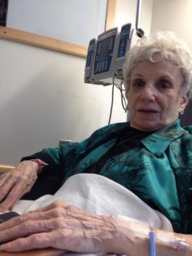 Without regular blood transfusions, Norma Chaty would die within days.