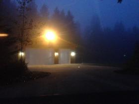 "Glare from a sodium vapor light creates an issue of ""light trespass"" in unincorporated Thurston County,Wash."