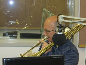 New York Philharmonic principal trombone Joseph Allesi