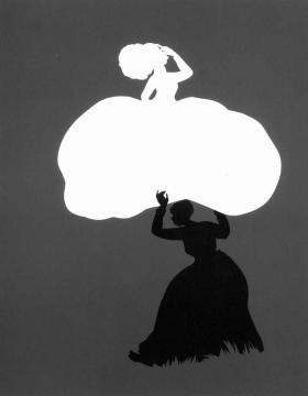 Kara Walker silhouette