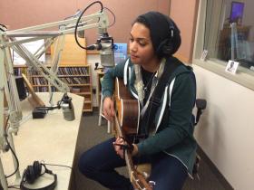 Whitney Monge, live at KLCC.