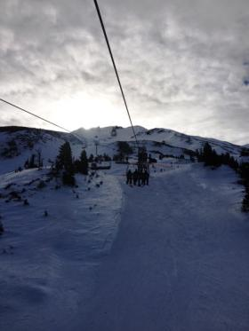 Mt Bachelor is one of the few northwest ski resorts that has opened for the season so far.