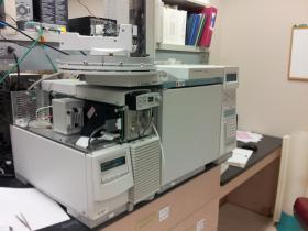 Gas chromatographic–mass spectrometer used to analysis air samples.
