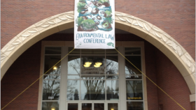 The Public Interest Environmental Law Conference is an annual event at the UO Law School.