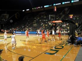 Ducks defeated Pacific in first round of the post season NIT.