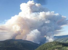 The Tumblebug Complex Fire burned 14,570 acres of Willamette National Forest land in Lane County in 2009.