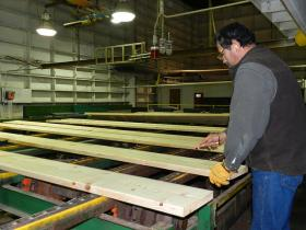 Research shows milling lumber in the Northwest creates more local jobs than exporting logs.