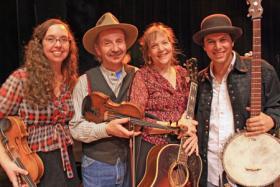 Ruthy Ungar Merenda, Jay Ungar, Molly Mason and Mike Merenda