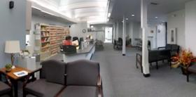 The lobby at the new LCC Dental Clinic can hold plenty of patients and the students depend on them to help them learn.