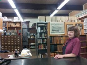 Cheryl Roffe, Lane County Historical Society Collections Manager and Research Librarian.