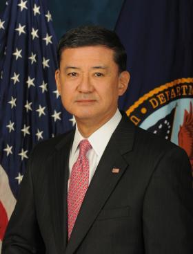 Secretary of Veterans Affairs Eric Shinseki.