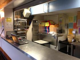 The concession stand doesn't have room for making home-cooked meals at Pleasant Hill high school or for teaching culinary skills to students.
