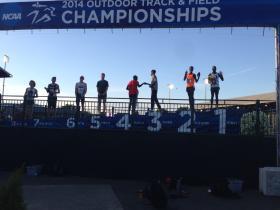 The award winners for Friday's 10K included Edward Cheserek (1st), Trevor Dunbar (5th) and Parker Stinson (8th).