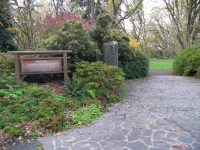One restroom will be closed at Hendricks Park (pictured), Sheldon and Sladden with budget cuts to Eugene's parks.