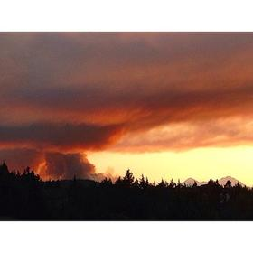 The Two Bulls Fire burned nearly 7,000 acres last month west of Bend.