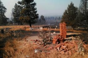 Many residents living outside Sprague River, Oregon, lost their homes to a wildfire.