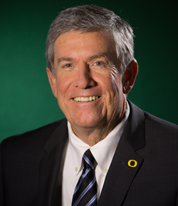 UO President Michael Gottfredson