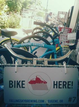 Falling Sky is now offering a bike-share program to customers and employees.