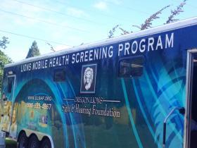 Lions Club Mobile Screening Truck