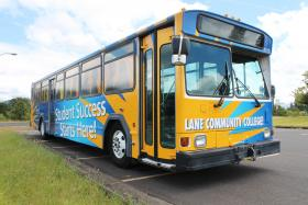 Lane Community College bus.