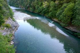 North Fork of the Smith River near Hiouchi, CA
