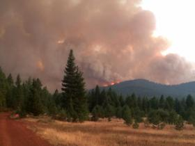 The Beaver Complex is comprised of the Salt Creek Fire (20 miles northwest of Medford) and the Oregon Gulch Fire (15 miles east of Ashland), lightning-started fires that started on July 30-31.