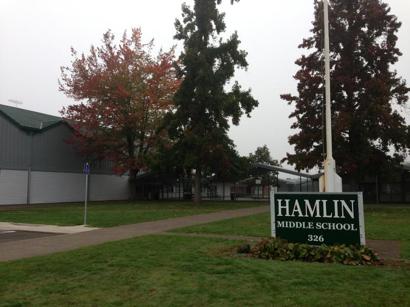 Hamlin Middle School in Springfield.