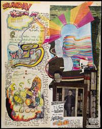 Scan of Kesey's Notes