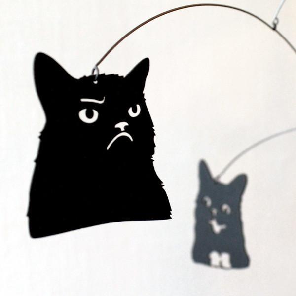 Andrea Leggitt draws on internet memes, such as cat videos, for inspiration.