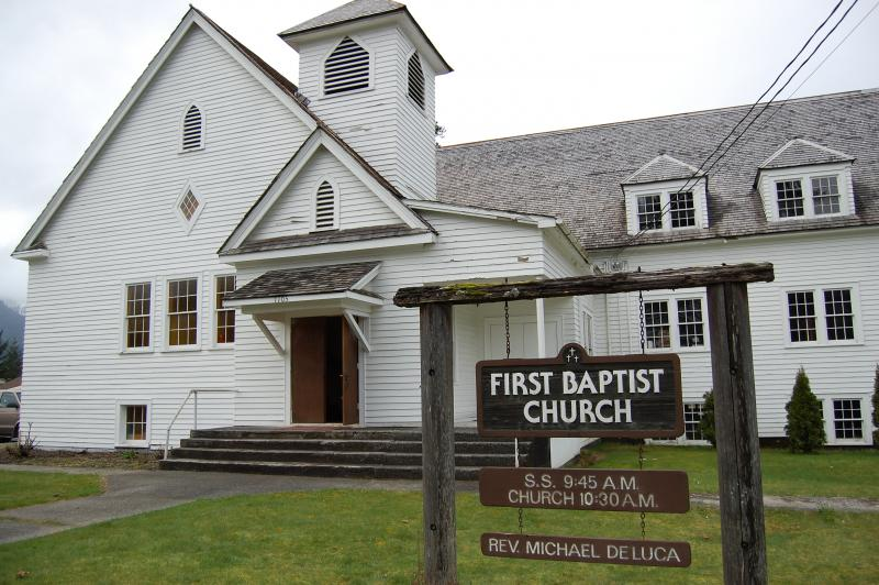 First Baptist Church in Darrington, Washington.