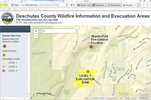 Shevlin Fire Map And Latest News | KLCC