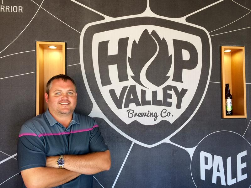 Hop Valley co-founder, Chuck Hare.
