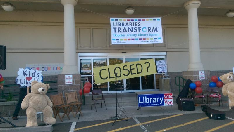Supporters of Measure 10-145 fear the library will be closed if they can't pass a special funding district.