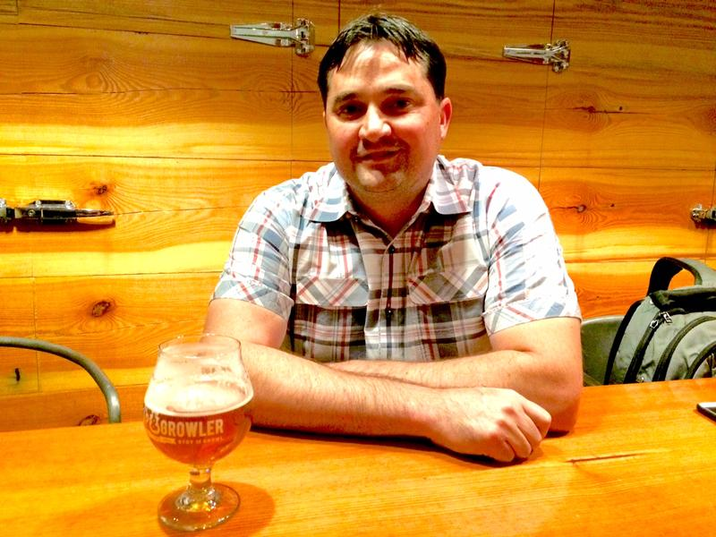 Colby Phillips, Owner of the Tap and Growler in Eugene.