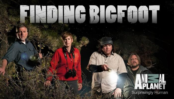 FINDING BIGFOOT promotional image.