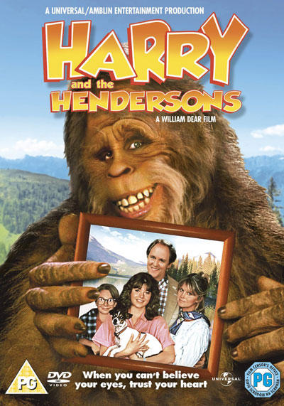 "Movie Poster/DVD cover for ""Harry and the Hendersons"""