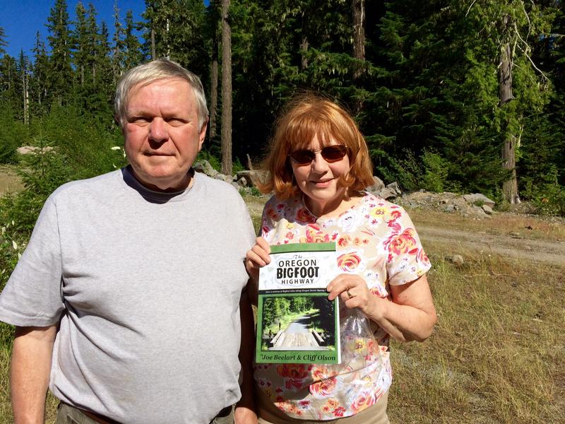 Bigfoot buff and author, Joe Beelart, and his wife, Sharon